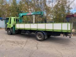 Hino Ranger. Продам грузовик с крановой установкой, 7 000куб. см., 5 000кг., 4x2