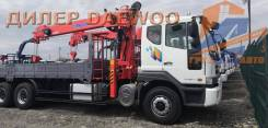 Daewoo Novus. 15,5 тонн c КМУ Kanglim 2056 (7100кг)/ 2019г в Москве, 9 000кг., 6x4. Под заказ