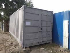 Сдам контейнер 20 фт возле рынка на Спортивной. Вид снаружи