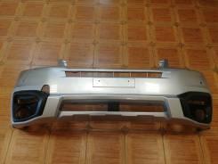 Бампер передний Subaru Forester(SJ) 16-19год 2 мод серебро 6519
