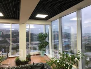 Сдаются в аренду офисные помещения от 25 до 110 Кв м в новом БЦ. 60,0кв.м., улица Выселковая 12а, р-н Снеговая. Вид из окна