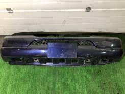 Бампер передний Mercedes ML w163 синий цвет 366