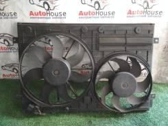 Диффузор радиатора Volkswagen Passat 2008 [1K0121207AT,1K0121205AB] 1K0121207AT