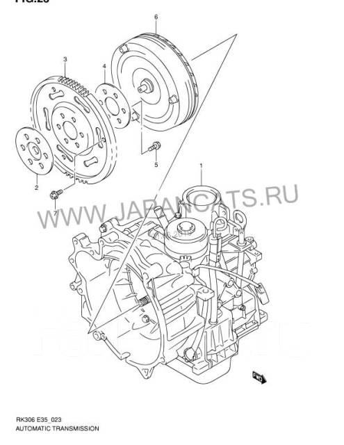 Акпп Сузуки Автомат Suzuki 32ткм K6A-T K6AT, K6A T, К6АТ JF405E, JF402