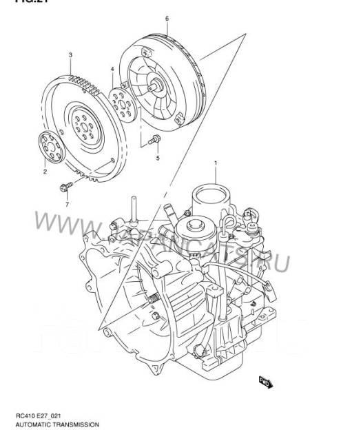 Автомат сузуки ниссан в разбор акпп JF405E, JF402E, SR410 SR412, SR413
