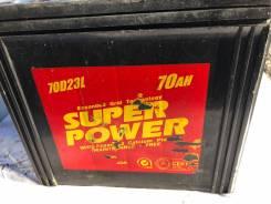 Super Power. 70А.ч., Обратная (левое), производство Япония