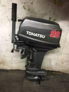 Tohatsu. 18,00л.с., 2-тактный, бензиновый, нога S (381 мм), 2003 год