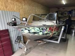 Fishline. 2012 год, длина 5,00м., двигатель подвесной, 80,00л.с., бензин