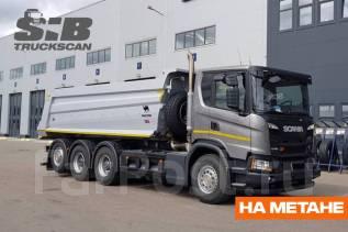 Scania G410. Самосвал Скания на природном газе, 13 000куб. см., 8x4. Под заказ