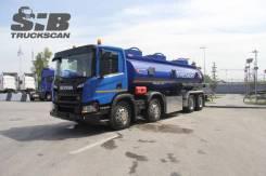 Scania P380. Топливозаправщик 8x4, 20 000кг., 8x4. Под заказ