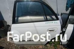 Дверь задняя левая на Toyota Carina ST190 CT190
