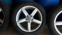 "Продам комплект колес на Audi A6 allroad quattro r18 235/55. 8.0x18"" 5x112.00 ET41 ЦО 66,6мм."