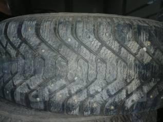 Goodyear. зимние, шипованные, б/у, износ 20%