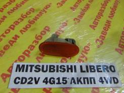 Повторитель на крыло желтый Mitsubishi Libero Mitsubishi Libero 2000, левый
