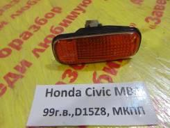 Повторитель на крыло желтый Honda Civic (MA, MB 5HB) 1995-2001 Honda Civic (MA, MB 5HB) 1995-2001 1999, левый