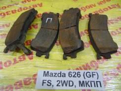 Колодки тормозные передние к-кт Mazda 626 (GE) 1992-1997 Mazda 626 (GE) 1992-1997 1993