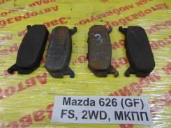 Колодки тормозные задние дисковые к-кт Mazda 626 (GE) 1992-1997 Mazda 626 (GE) 1992-1997 1993