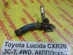 Фланец двигателя системы охлаждения Toyota Estima Lucida Toyota Estima Lucida 1995