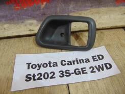 Накладка ручки двери перед. лев. Toyota Carina ED ST202 Toyota Carina ED ST202