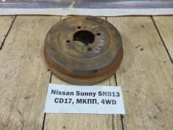 Барабан тормозной задн. прав. Nissan Sunny SNB13 Nissan Sunny SNB13