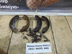 Колодки тормозные задние барабанные к-кт Nissan Sunny SNB13 Nissan Sunny SNB13