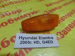 Повторитель на крыло желтый Hyundai Elantra HD Hyundai Elantra HD 2005, правый