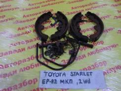 Колодки тормозные задние барабанные к-кт Toyota Starlet EP82 Toyota Starlet EP82