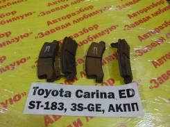 Колодки тормозные задние дисковые к-кт Toyota Carina ED ST183 Toyota Carina ED ST183 1992