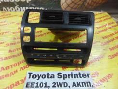 Консоль вокруг магнитолы Toyota Sprinter EE101 Toyota Sprinter EE101 1994