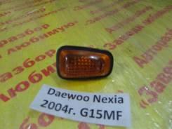 Повторитель на крыло желтый Daewoo Nexia T100 Daewoo Nexia T100 2004, правый