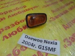 Повторитель на крыло желтый Daewoo Nexia T100 Daewoo Nexia T100 2004, левый