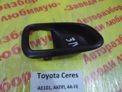 Накладка ручки двери Toyota Corolla Ceres AE101 Toyota Corolla Ceres AE101, левая задняя