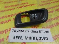 Накладка ручки двери Toyota Caldina ET196 Toyota Caldina ET196 1997, левая задняя