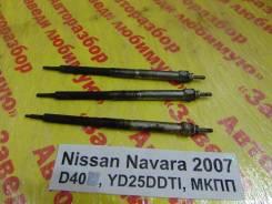 Свеча накала Nissan Navara D40 Nissan Navara D40