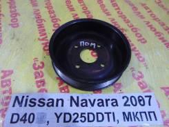 Шкив водяного насоса (помпы) Nissan Navara D40 Nissan Navara D40