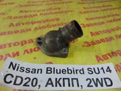 Фланец двигателя системы охлаждения Nissan Bluebird SU14 Nissan Bluebird SU14