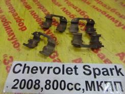 Зажим тормозной колодки Chevrolet Spark M200 Chevrolet Spark M200 2008, передний