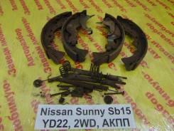 Колодки тормозные задние барабанные к-кт Nissan Sunny SB15 Nissan Sunny SB15 2000