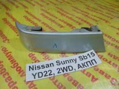 Планка под фонарь Nissan Sunny SB15 Nissan Sunny SB15 2000, левая