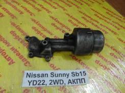 Корпус масляного фильтра Nissan Sunny SB15 Nissan Sunny SB15 2000