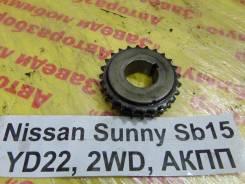 Шестерня коленвала Nissan Sunny SB15 Nissan Sunny SB15 2000