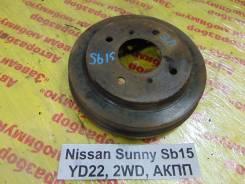 Барабан тормозной задн. прав. Nissan Sunny SB15 Nissan Sunny SB15 2000