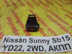 Кнопка аварийной сигнализации Nissan Sunny SB15 Nissan Sunny SB15 2000