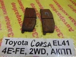 Колодки тормозные передние к-кт Toyota Corsa Toyota Corsa