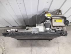 Радиатор охлаждения двигателя. Toyota Vitz, KSP90 1KRFE