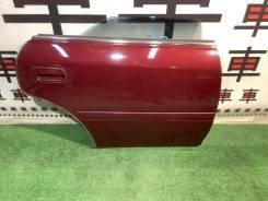 Дверь задняя правая Toyota Chaser 100 цвет 3L4