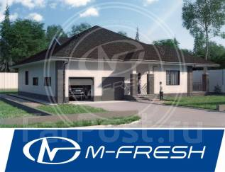 M-fresh Excellent! (Великолепно-строительный проект дома с подвалом! ). 300-400 кв. м., 1 этаж, 5 комнат, бетон