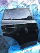 Дверь задняя правая черная Toyota Rav 4