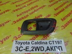 Накладка ручки двери Toyota Caldina Toyota Caldina 1999.04, левая передняя