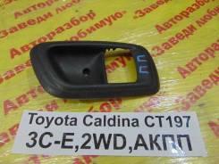 Накладка ручки двери Toyota Caldina Toyota Caldina 1999.04, правая передняя